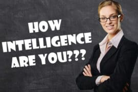 how intelligence are you