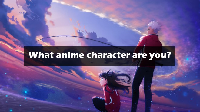 what anime character are you