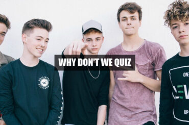 Why don't we quiz