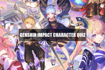 which genshin impact character are you